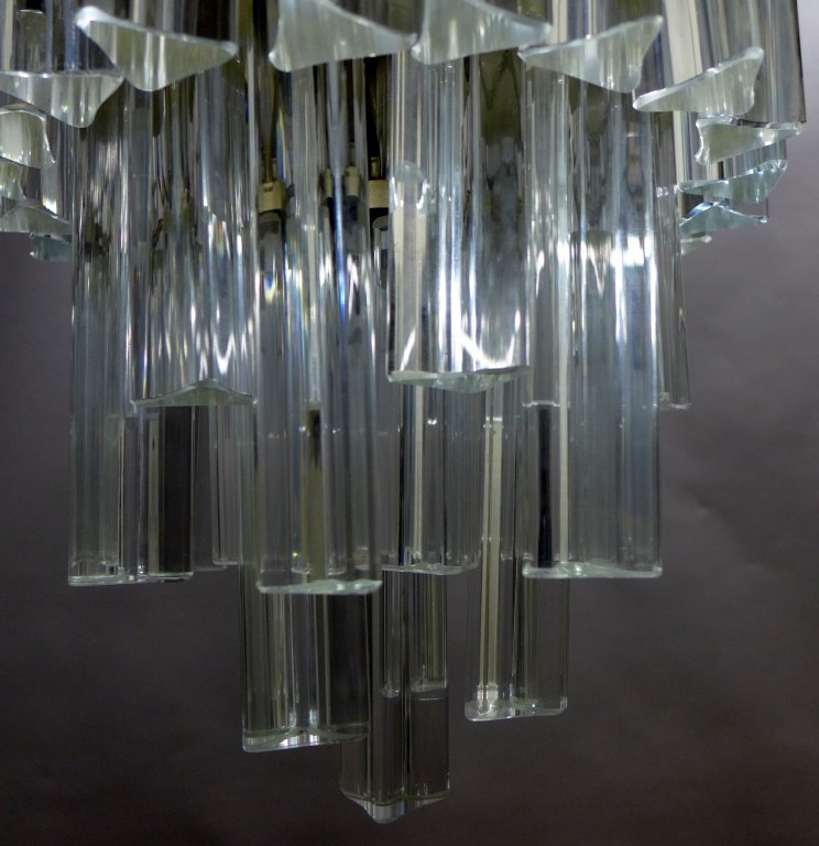 Vintage Italian Murano Glass Chandelier by Camer - 4
