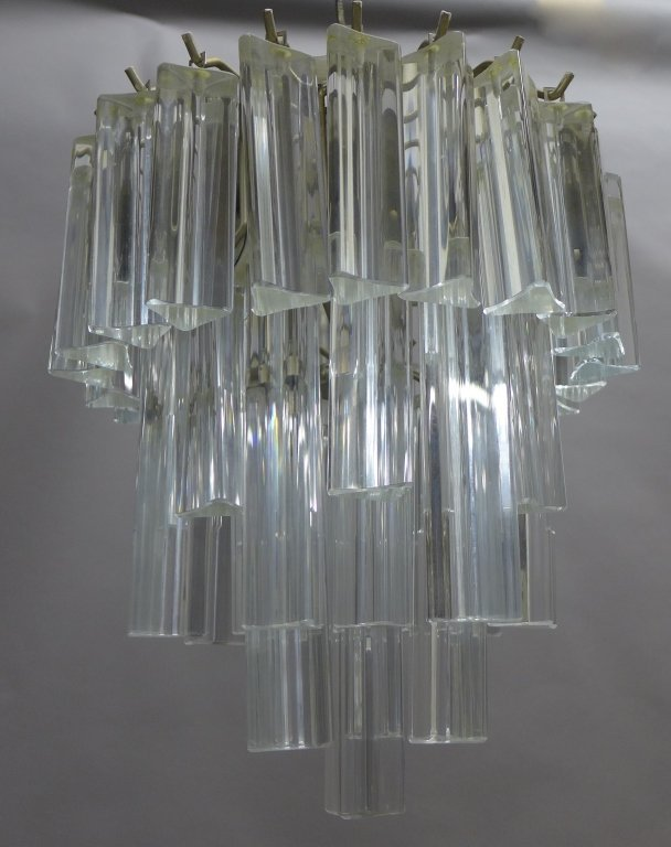 Vintage Italian Murano Glass Chandelier by Camer - 5