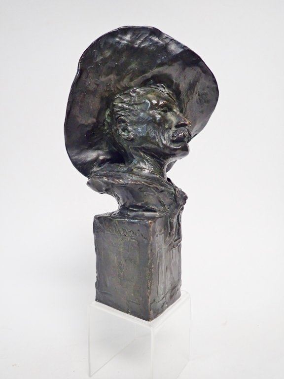 "Frederic Remington, ""The Sergeant"" Bronze"