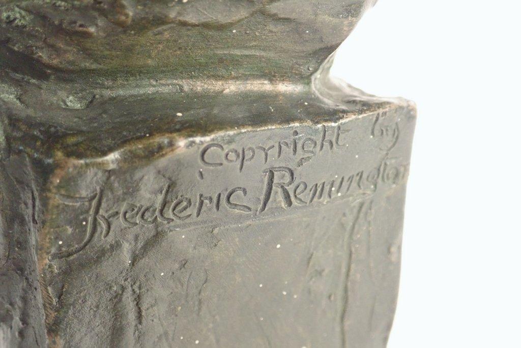 "Frederic Remington, ""The Sergeant"" Bronze - 6"