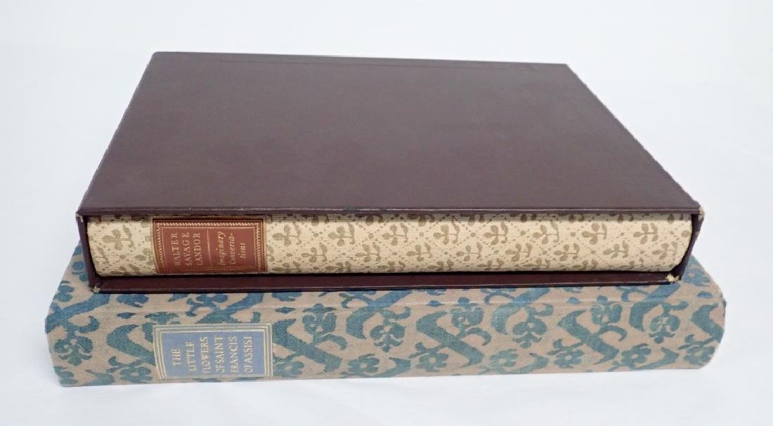 Pair Vintage Books Printed in Italy