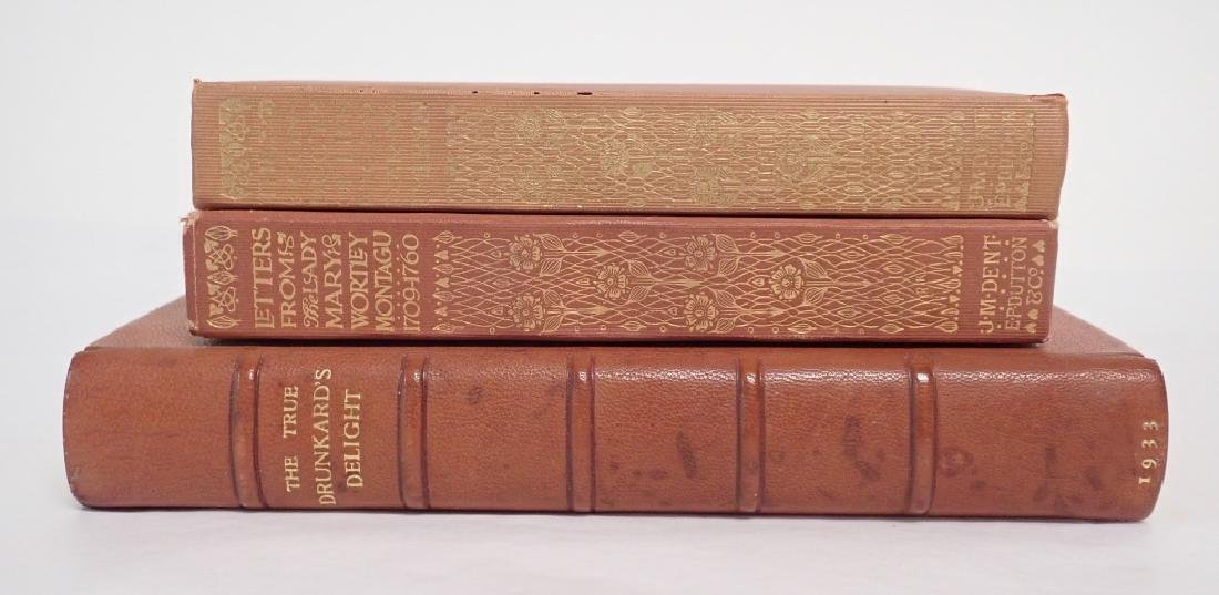 Set of Three Antique & Vintage Books