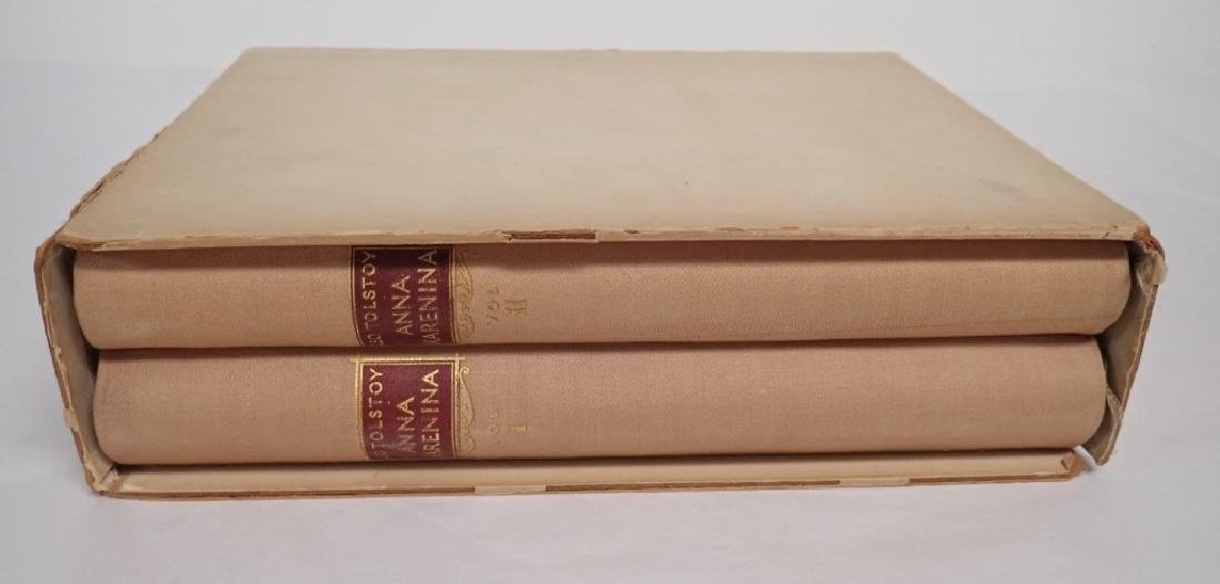 Vintage Two Volume Set Tolstoy Anna Karenina 1933