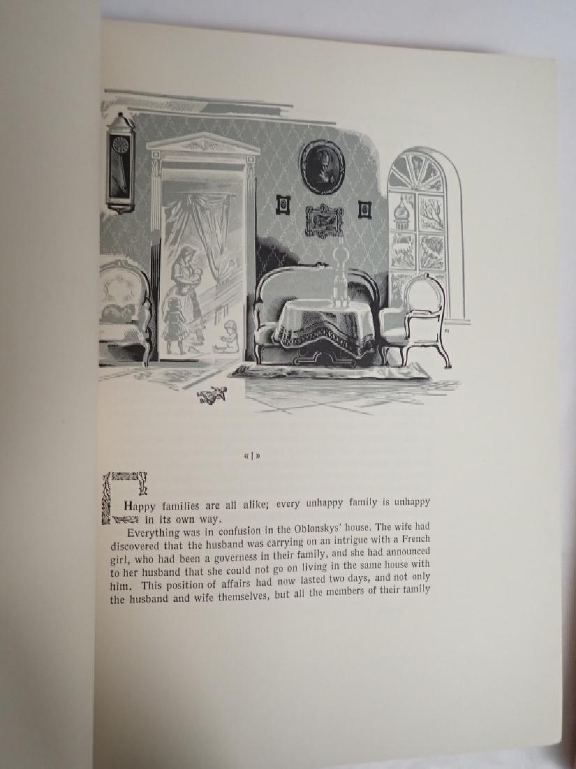 Vintage Two Volume Set Tolstoy Anna Karenina 1933 - 5