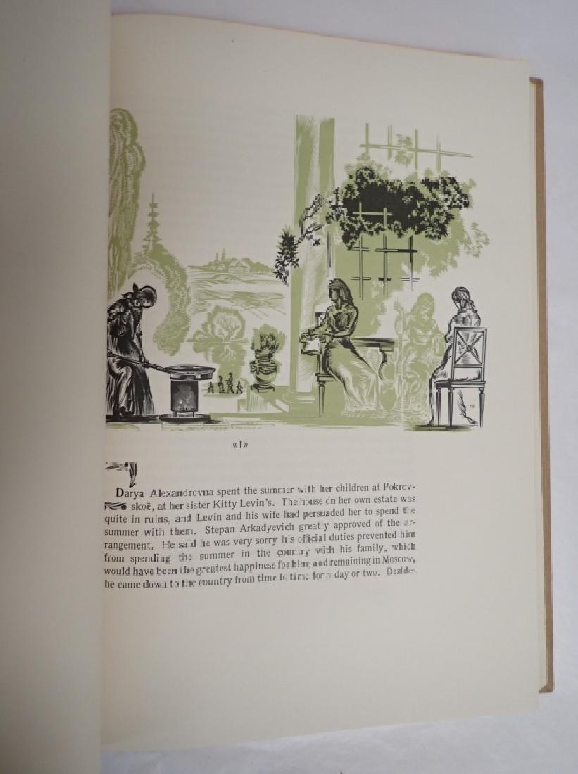 Vintage Two Volume Set Tolstoy Anna Karenina 1933 - 7