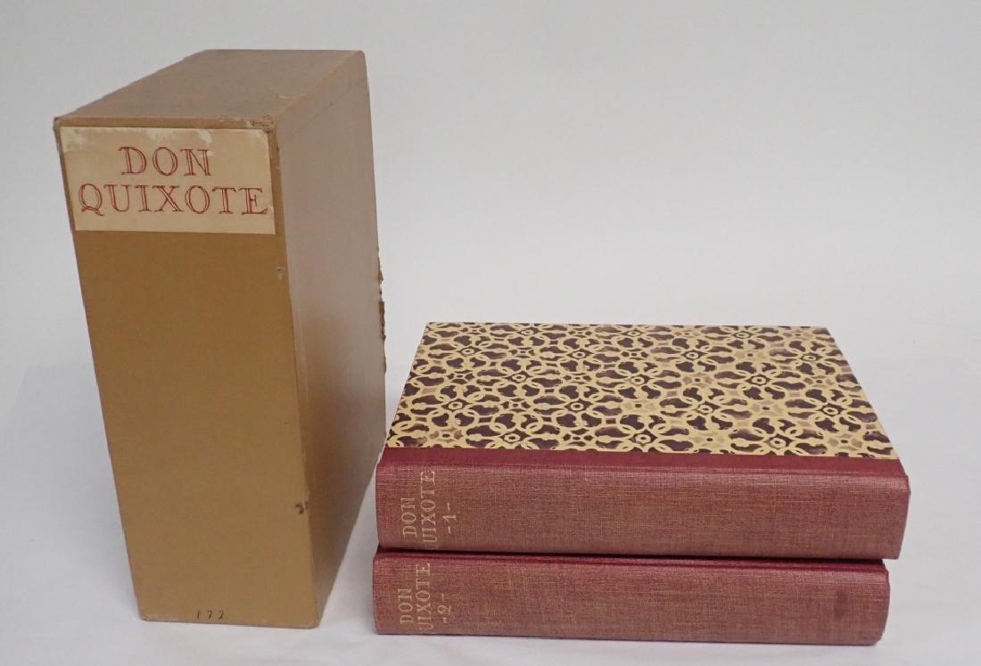 1933 Edition Don Quixote De La Mancha 2 Volumes