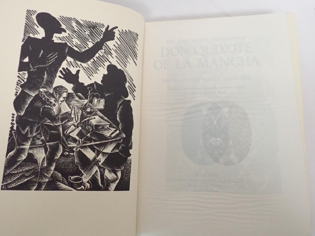 1933 Edition Don Quixote De La Mancha 2 Volumes - 5