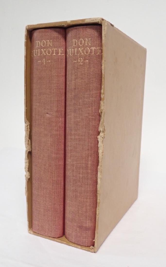 1933 Edition Don Quixote De La Mancha 2 Volumes - 7