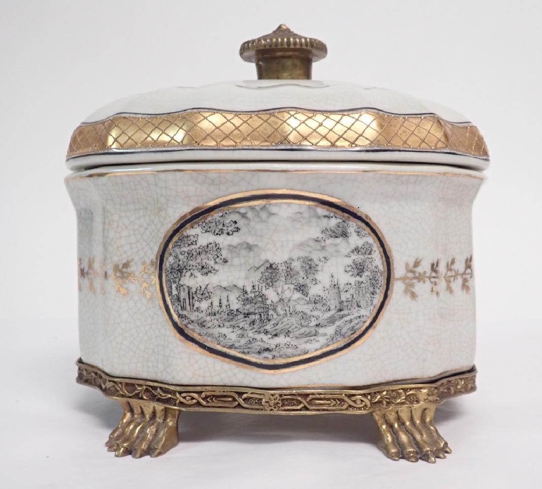 United Wilson 1897 Lidded Pottery