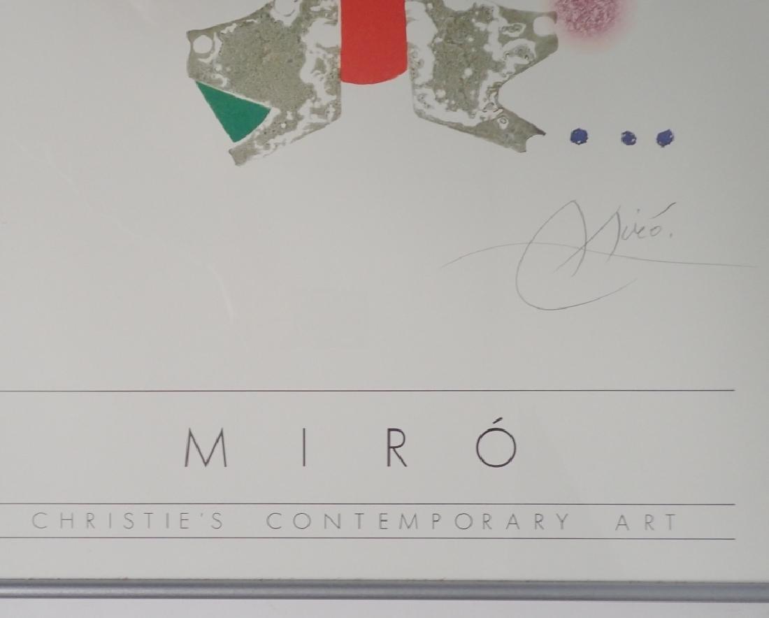 Joan Miro, Christies Contemporary Art, Poster - 3