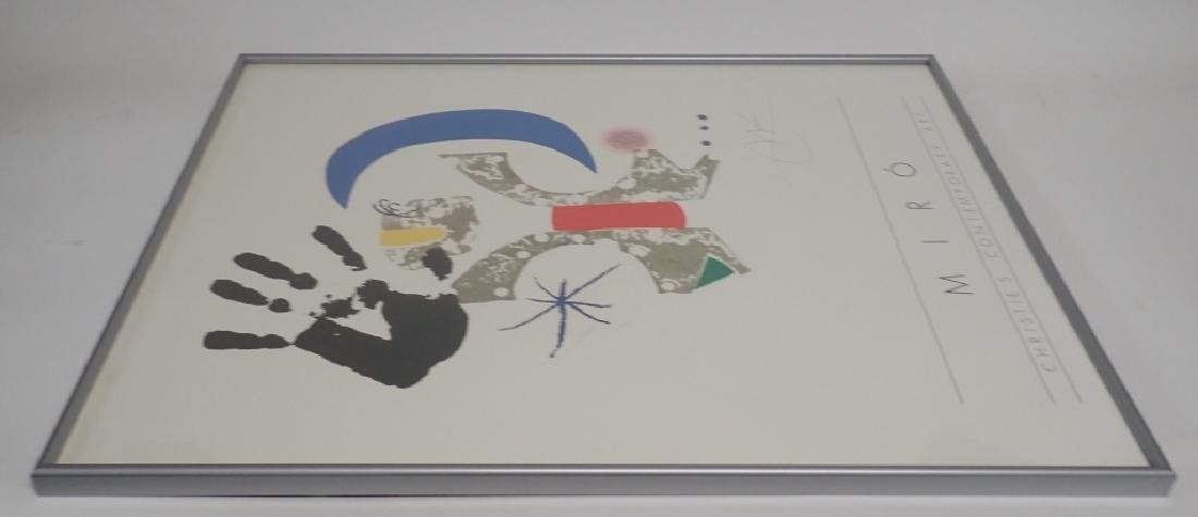Joan Miro, Christies Contemporary Art, Poster - 4