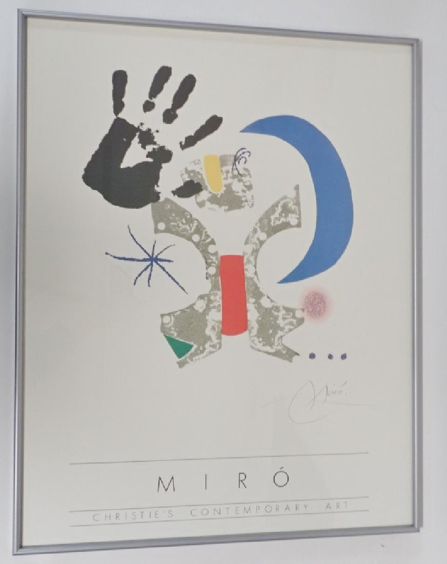 Joan Miro, Christies Contemporary Art, Poster - 6