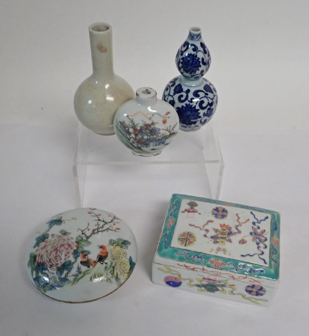 Chinese Porcelain Assortment