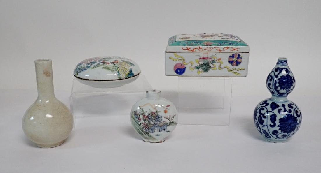 Chinese Porcelain Assortment - 2