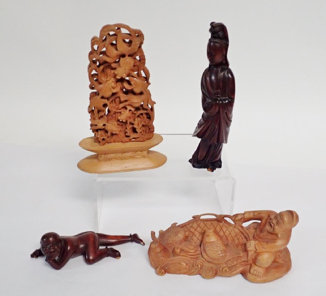 Chinese Wood Carving Collection