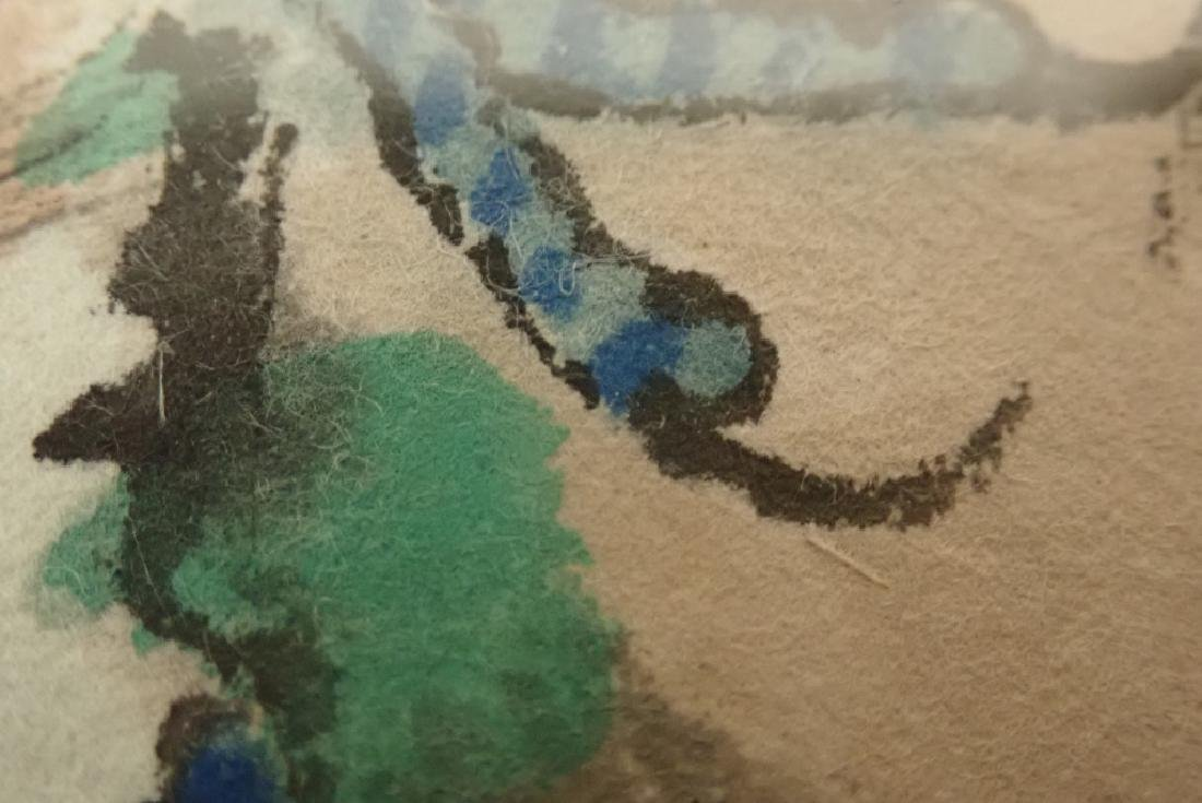 Chinese Watercolor, Signed - 8