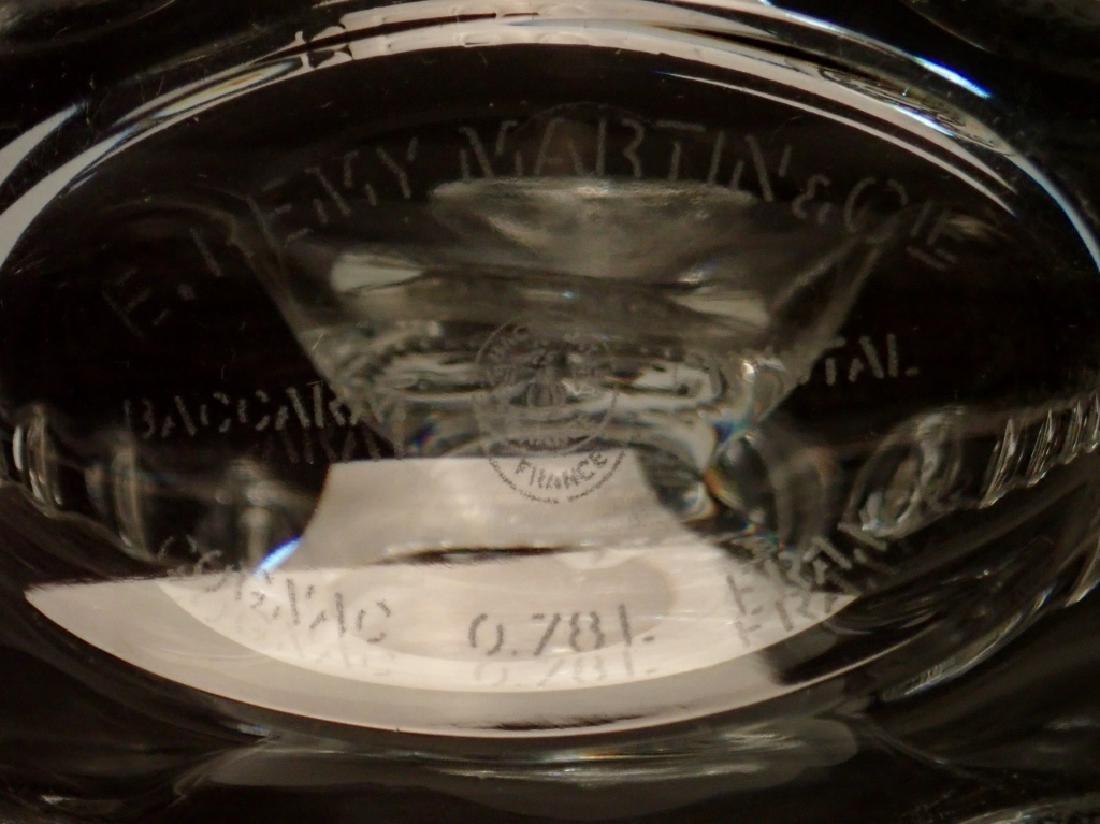 Baccarat Crystal Remy Martin Cognac Decanter - 7