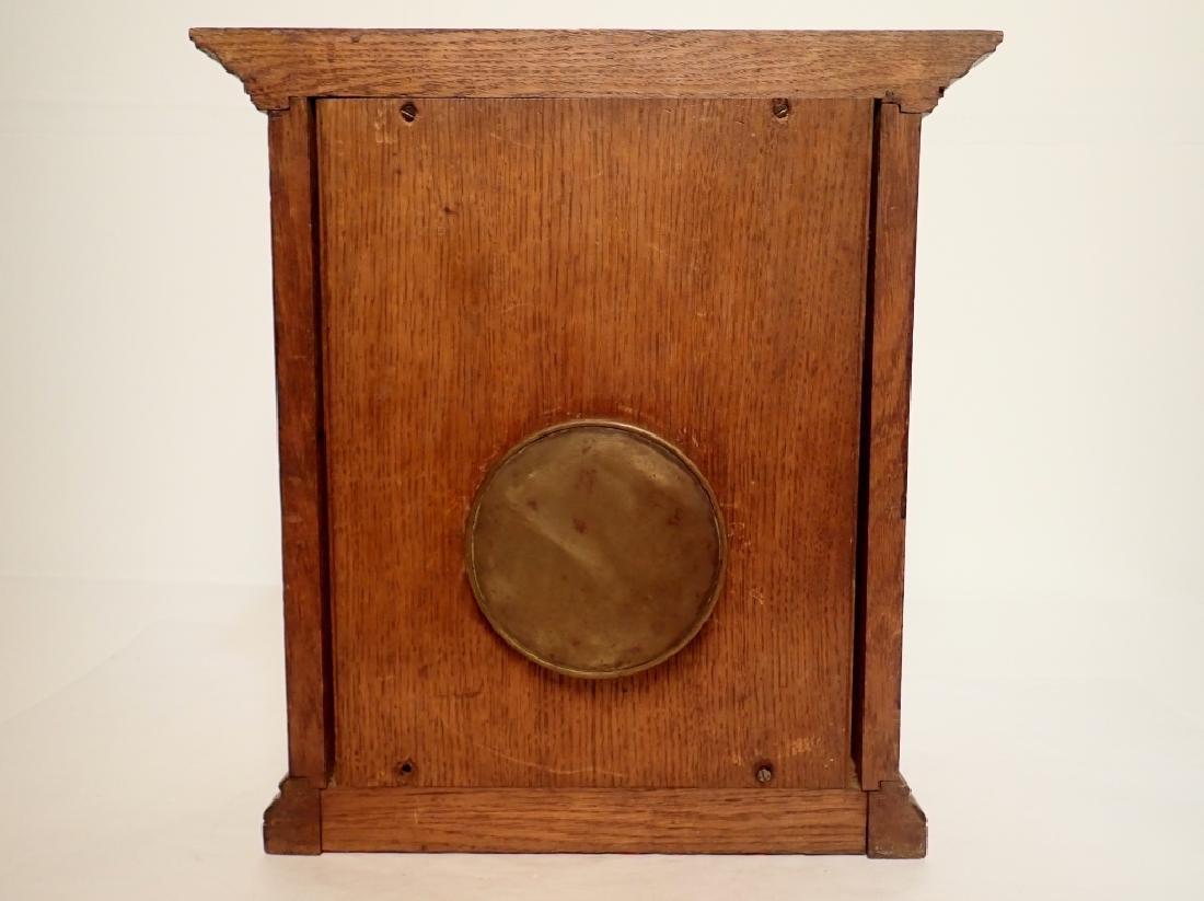 Waterbury Clock Co. Wooden Clock - 3