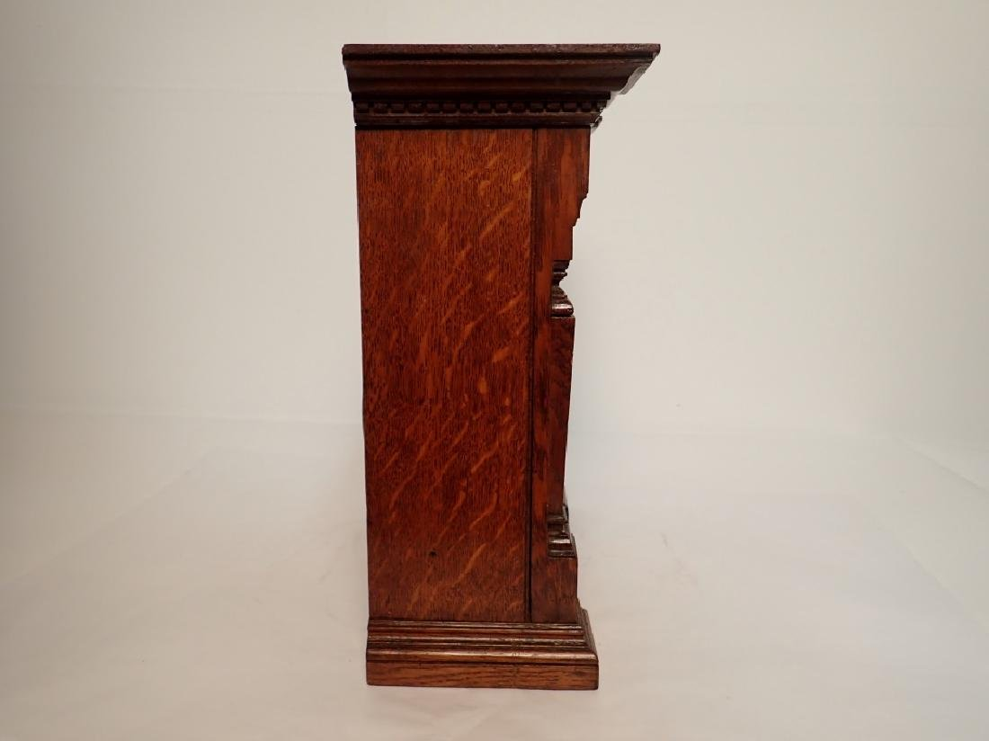 Waterbury Clock Co. Wooden Clock - 4