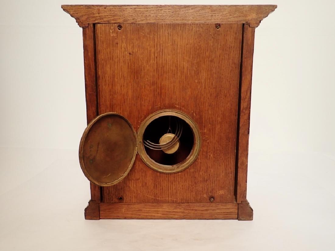 Waterbury Clock Co. Wooden Clock - 5
