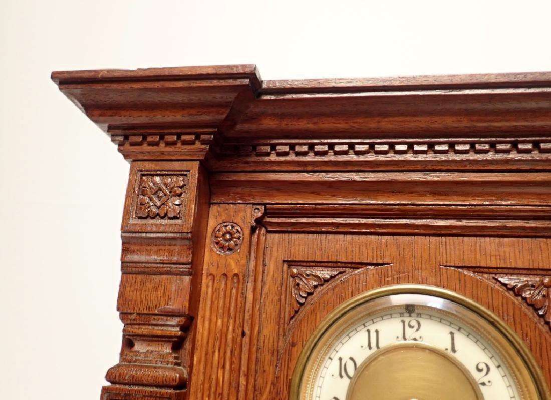 Waterbury Clock Co. Wooden Clock - 8