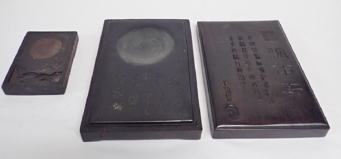 Pair of Chinese Inkstones - 3