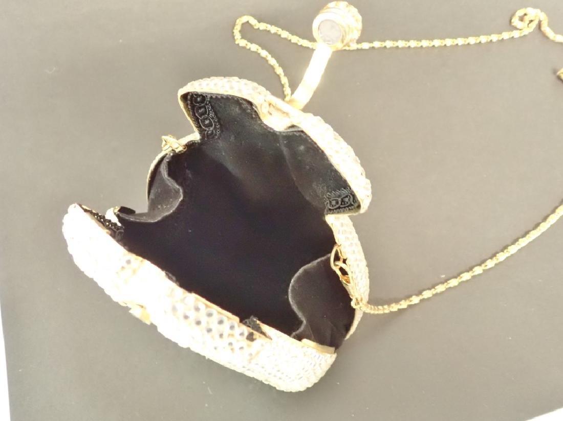 Vintage Crystal Handbag - 3
