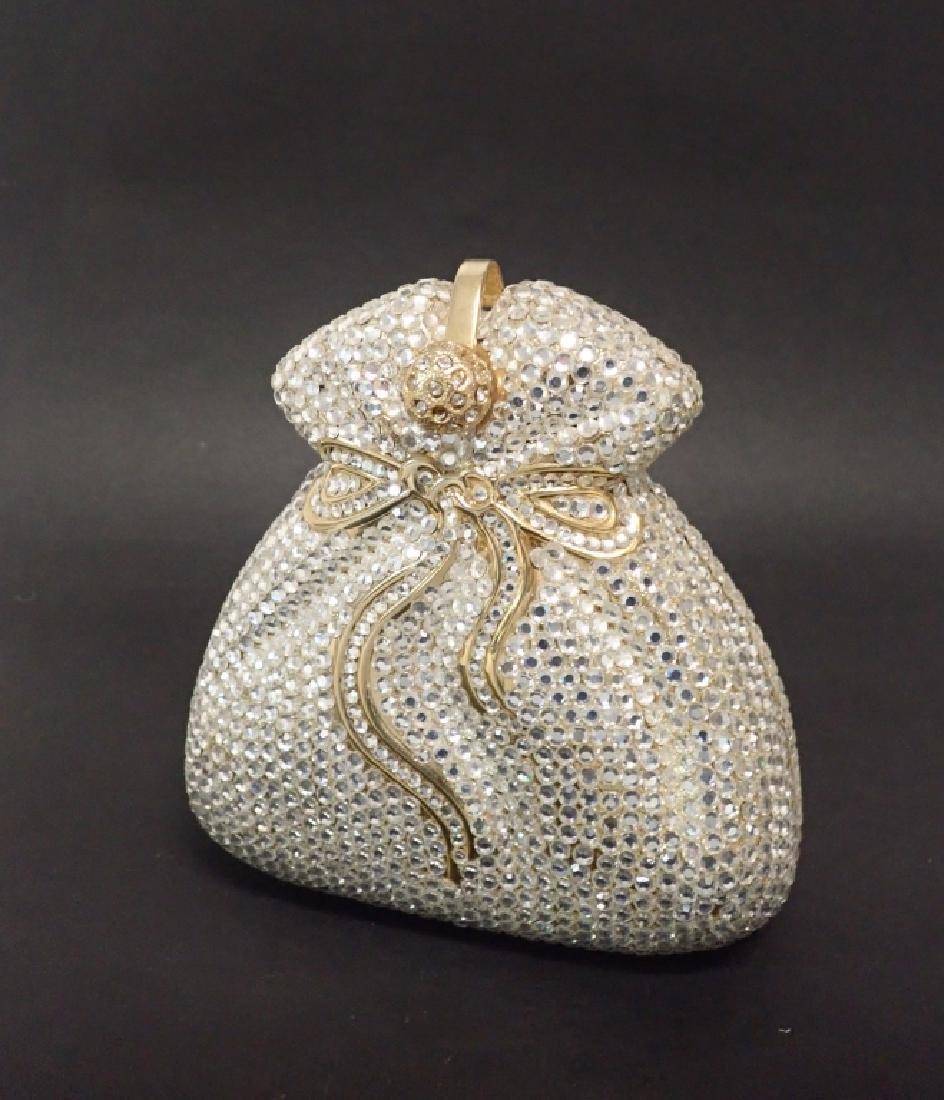 Vintage Crystal Handbag - 6