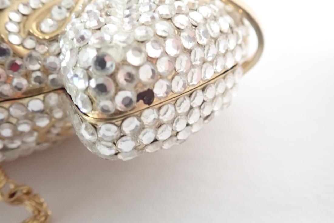 Vintage Crystal Handbag - 9