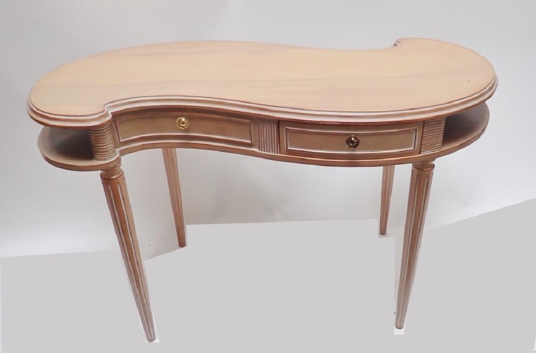 """Mid-Century """"S Curve"""" Ladies Designer Desk"""