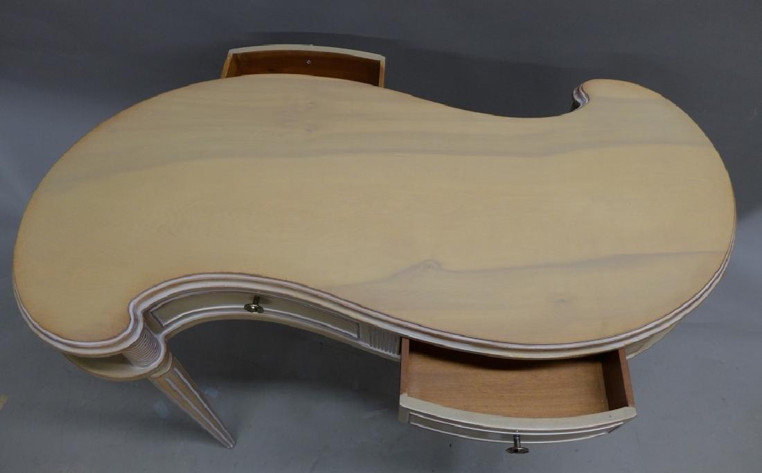 """Mid-Century """"S Curve"""" Ladies Designer Desk - 5"""