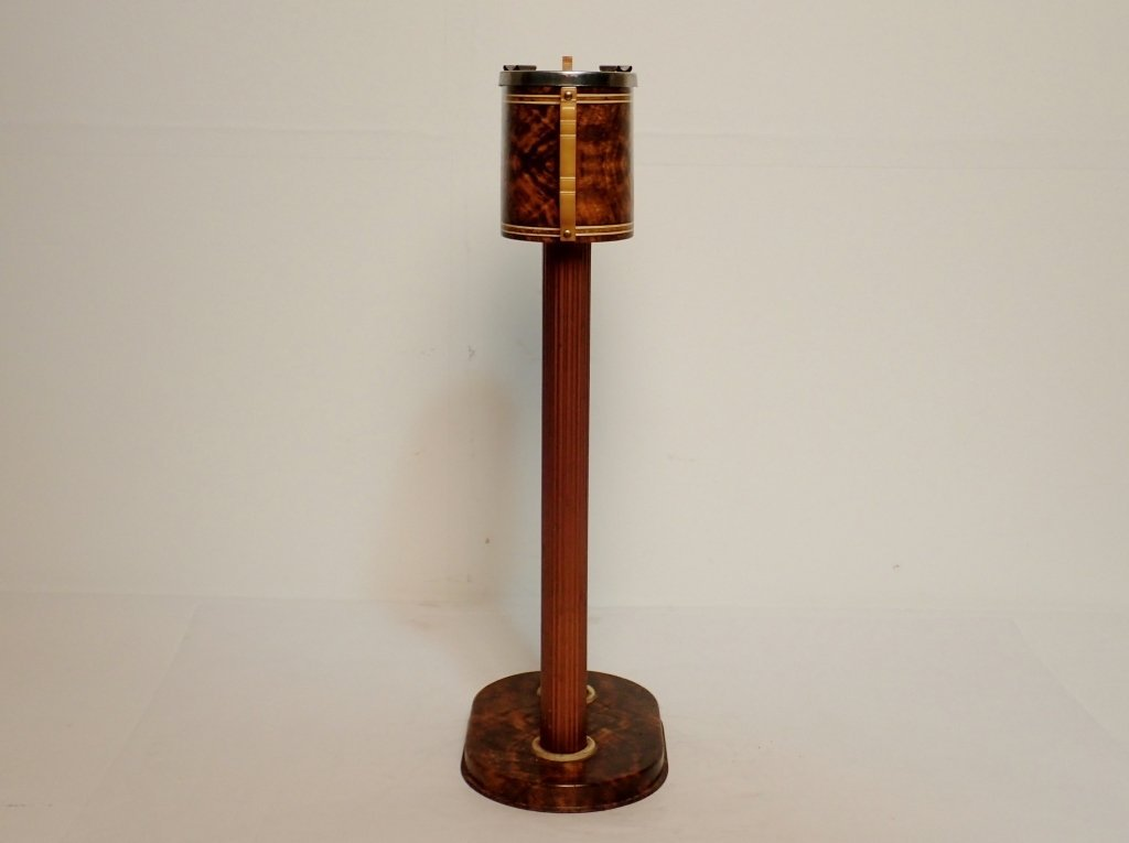 Russakov Co. Smokemaster Art Deco Standing Ashtray - 4