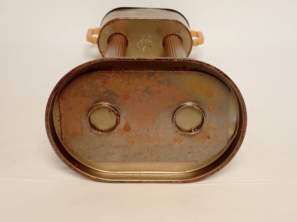 Russakov Co. Smokemaster Art Deco Standing Ashtray - 5