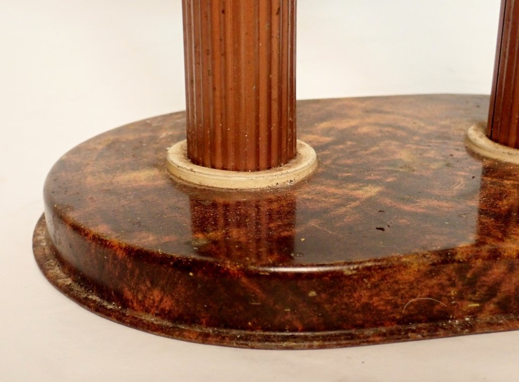 Russakov Co. Smokemaster Art Deco Standing Ashtray - 9