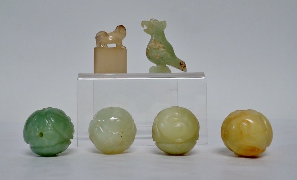 Chinese Carved Jade Assortment