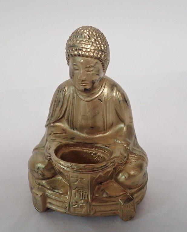 Selection of Three Buddha & Deity Statues - 6