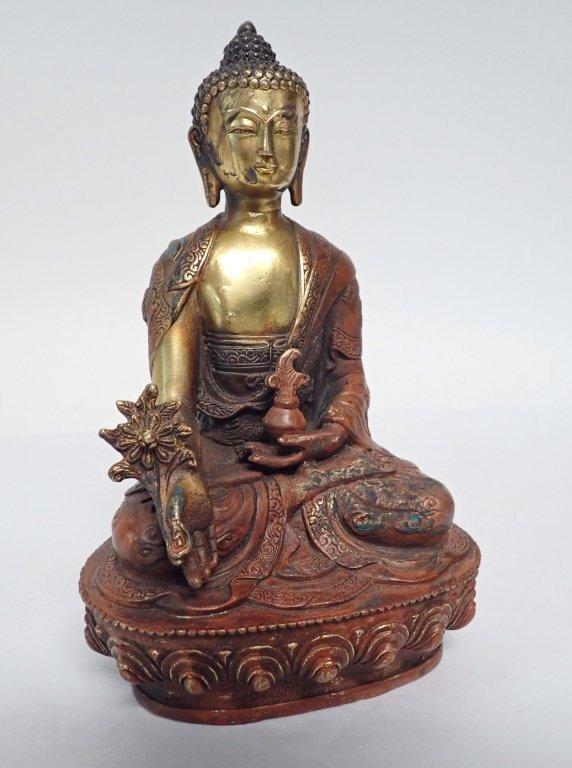 Selection of Three Buddha & Deity Statues - 7