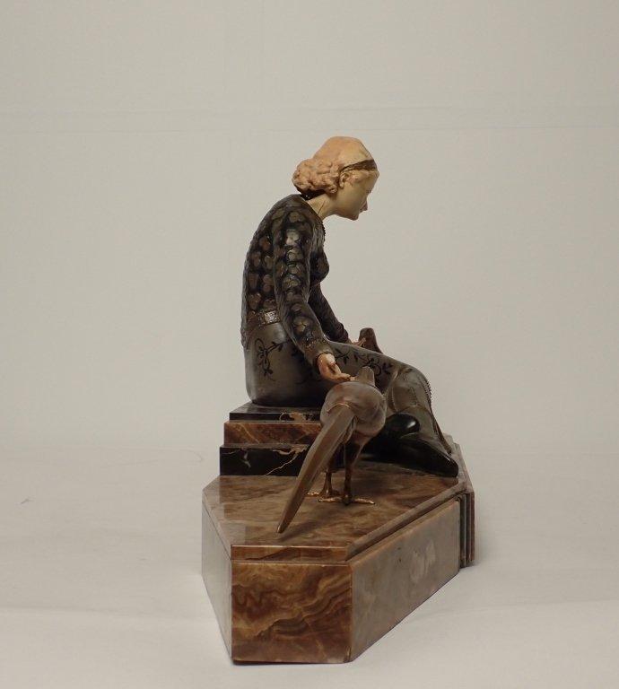 Art Deco Bronze Signed Georges Gori (1920-1940) - 2