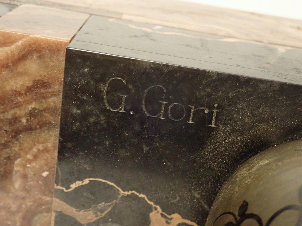 Art Deco Bronze Signed Georges Gori (1920-1940) - 8
