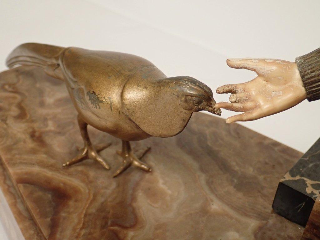 Art Deco Bronze Signed Georges Gori (1920-1940) - 9