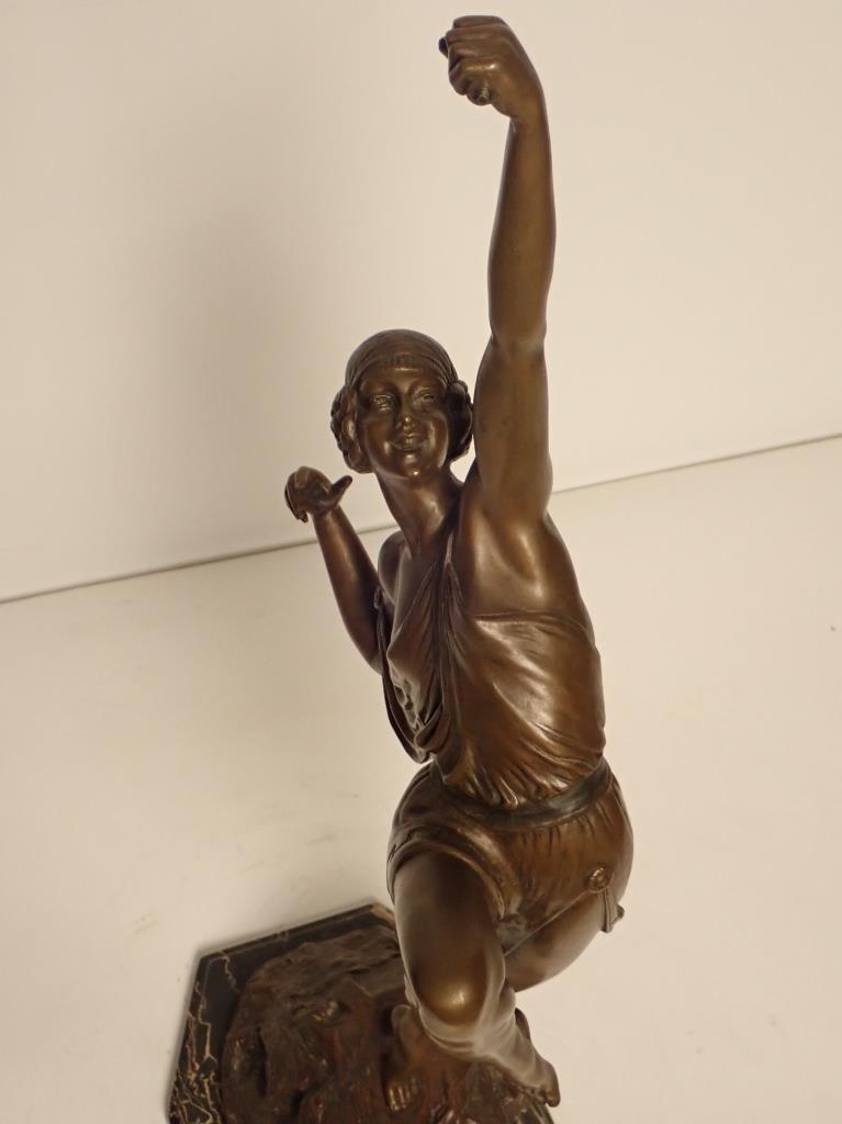 Art Deco Bronze Signed Le Faguays (1892-1962) - 10