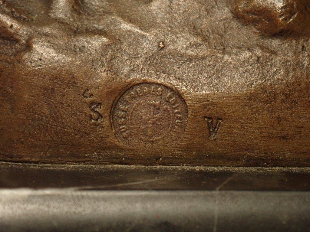 Art Deco Bronze Signed Le Faguays (1892-1962) - 6