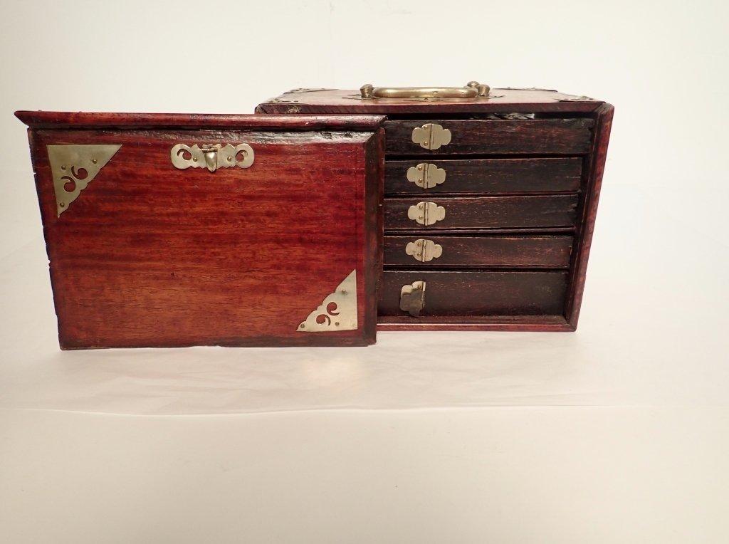 Mahjong Set with Wooden Box - 2