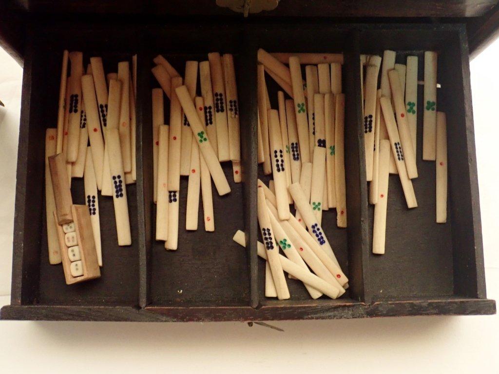 Mahjong Set with Wooden Box - 5