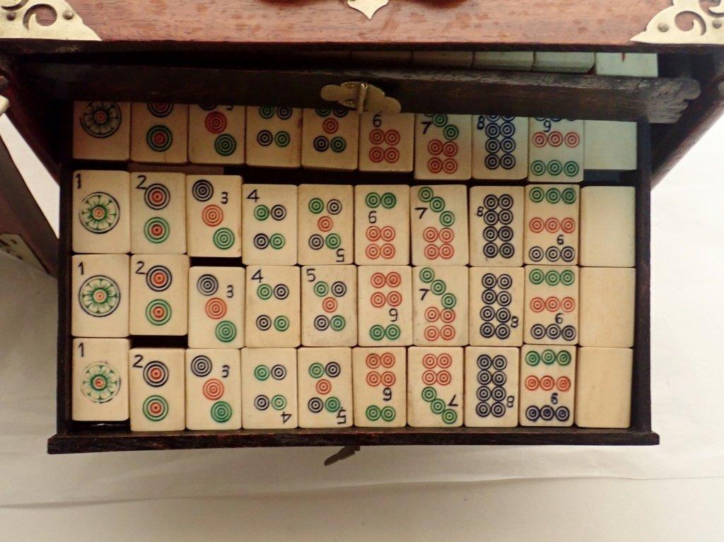 Mahjong Set with Wooden Box - 8