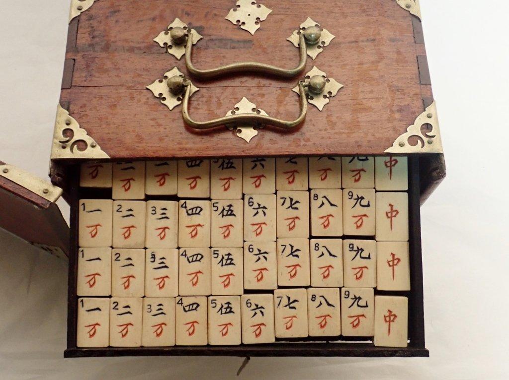 Mahjong Set with Wooden Box - 9