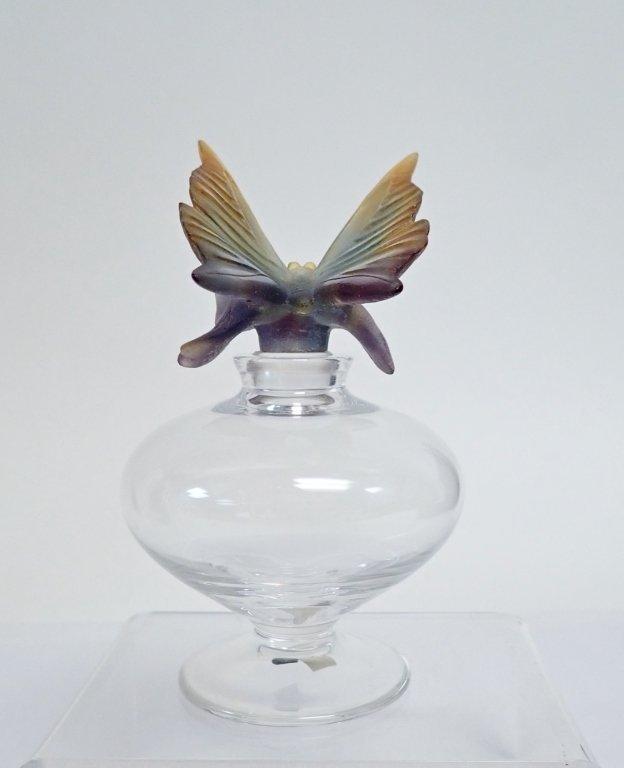Daum France Butterfly Perfume Bottle - 2