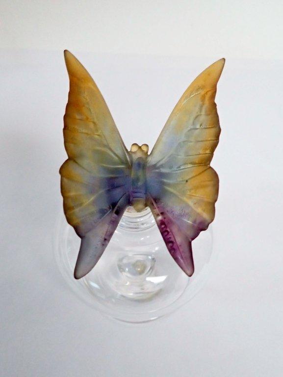 Daum France Butterfly Perfume Bottle - 3