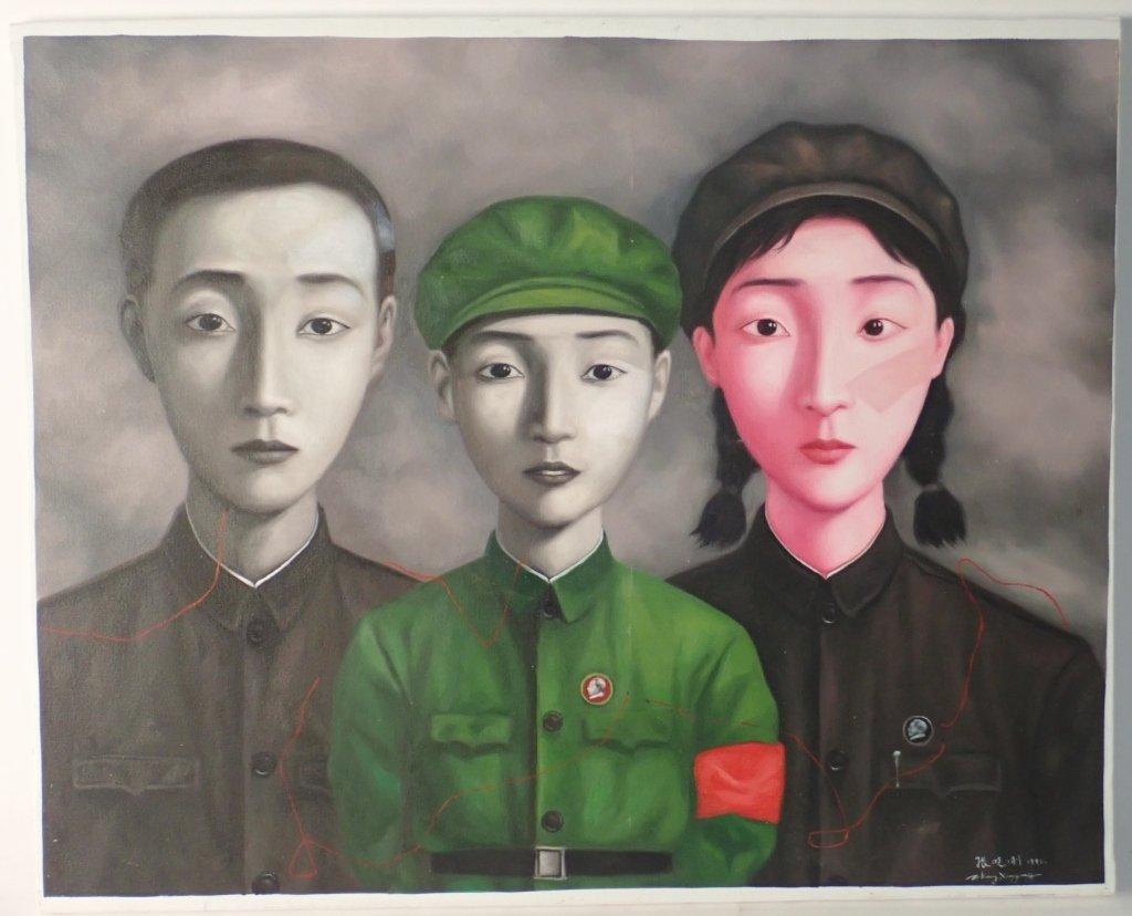 Zhang Xiaogang, Big Family Series: Bloodline