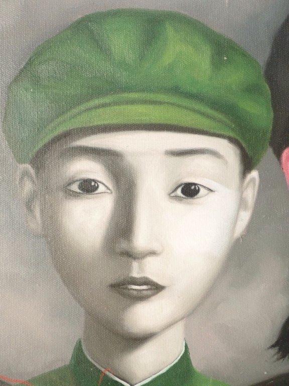 Zhang Xiaogang, Big Family Series: Bloodline - 7